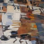 Passage d'ailes . Huile sur toile . 130x97cm . Vendu / Sold / Verkauft